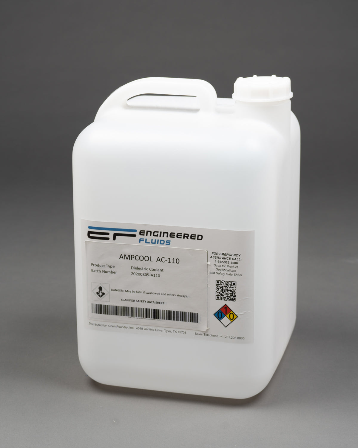 Can AmpCool be dyed to assist in identifying leaks/spills?