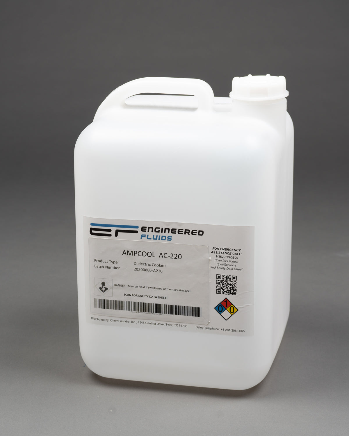 AmpCool® AC-220 Dielectric Coolant & Lubricant