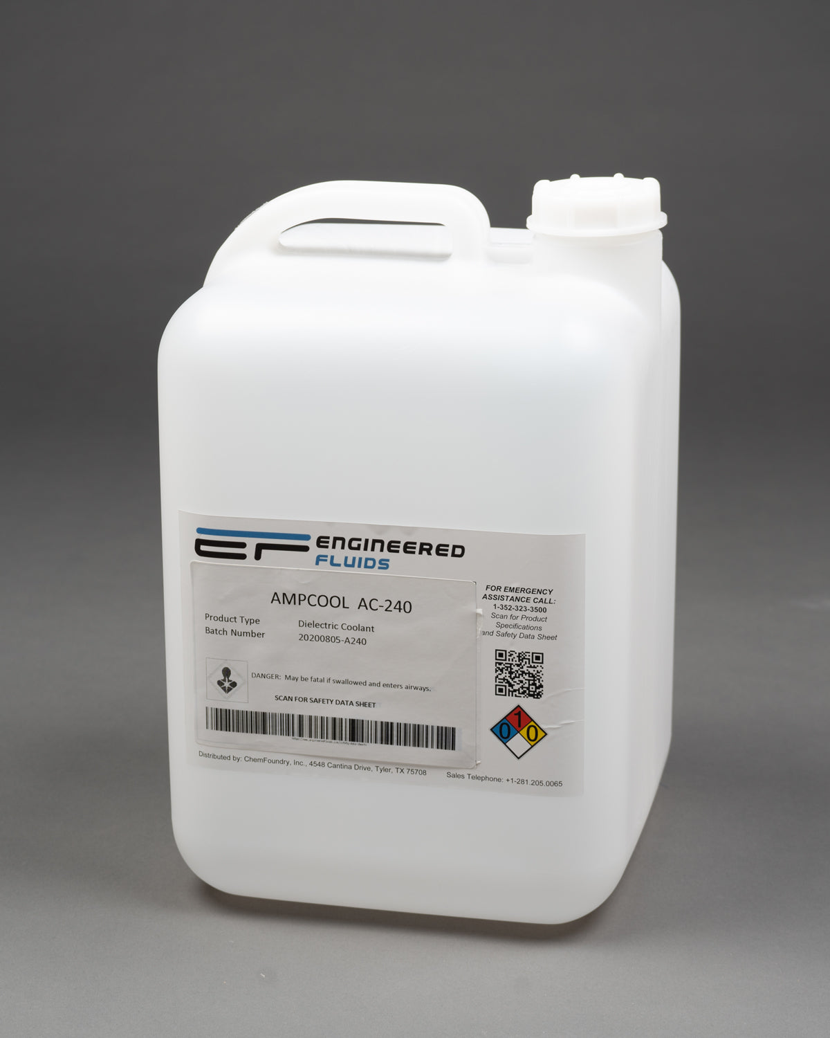 AmpCool® AC-240 Dielectric Coolant & Lubricant